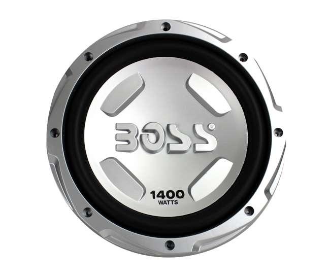 CX122 + AR1500M + AKS8 + QSMBASS12 Boss 12-Inch 1400W Subwoofers + 1500W Mono Amplifier + Amp Kit + Subwoofer Box