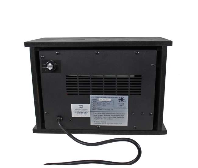 LS-PCFP1056LifePro 750-Watt Infrared Mini Fireplace Heater