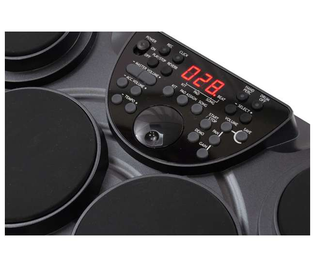 Pyle Pro Pted01 Electronic Digital Drum Kit Set