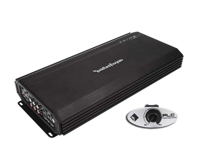 R600-5 ROCKFORD FOSGATE R600-5 600W 5-Channel Class-A/B Car Audio Amplifier