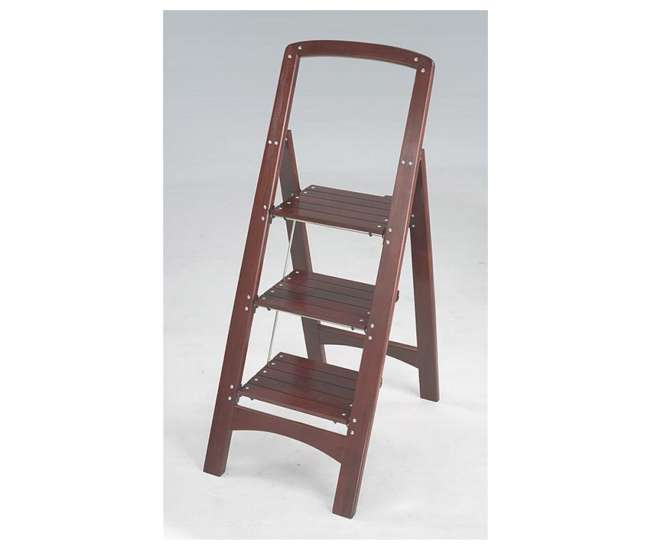 Cosco Rockford 3 Step Wood Step Stool 11255mgy1