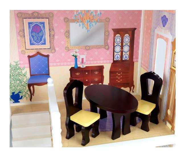 65023KidKraft Savannah Wooden Play Dollhouse