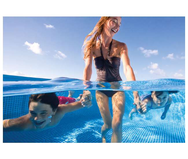 "28160EH Intex 15'x36"" Easy Set Above-Ground Pool 