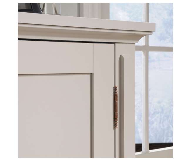 Sauder Furniture Grange Off-White Shaker Style Cabinet