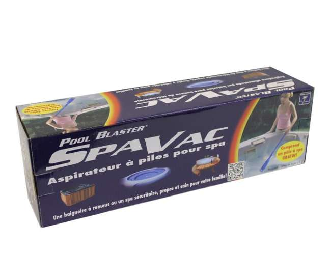 SPAVAC127WaterTech Pool Blaster SpaVac Battery Operated Spa Vacuum Spa (Pair)