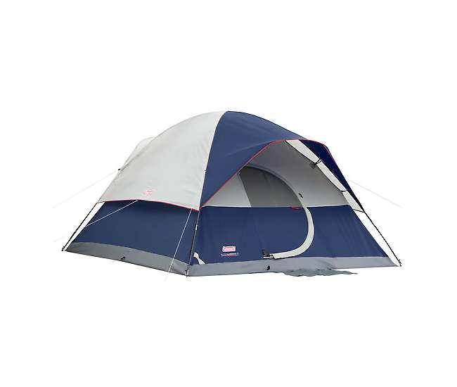 Coleman Camping Elite Sundome  Person Tent  Rooms