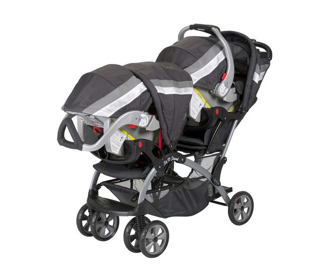 Baby Trend Sit N Stand Double Stroller Liberty Ss76711