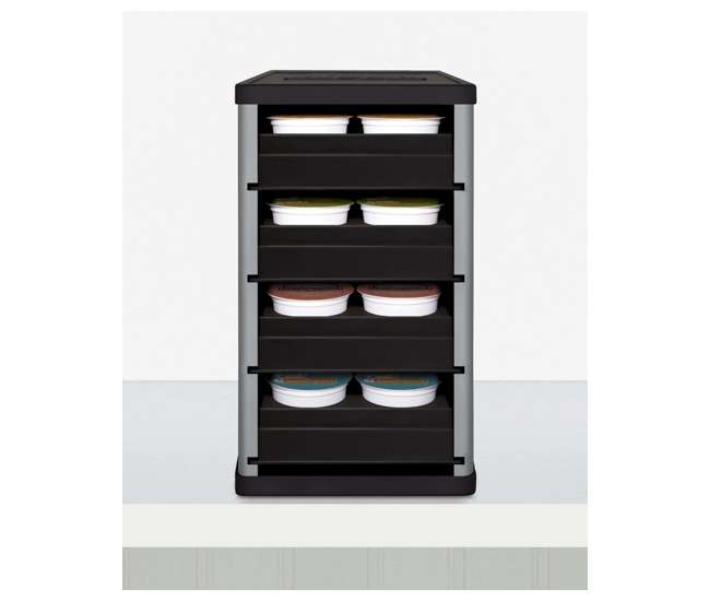 Coffeestack 40 K Cup Cabinet Organizer 4010202slv