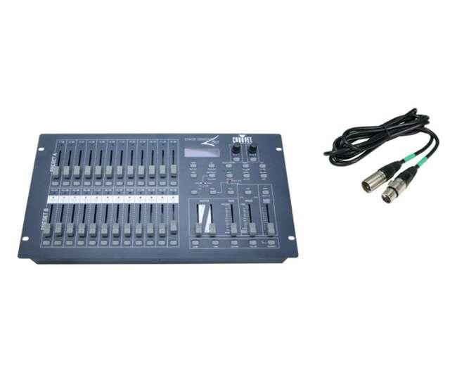 chauvet stage designer 50 dmx 512 dimming console light controller 25 39 dmx cable stage. Black Bedroom Furniture Sets. Home Design Ideas