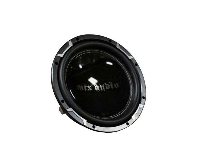 TR551004 MTX TR5510-04 Thunder 10-Inch 600 Watt Single 4-Ohm Subwoofers (Pair)