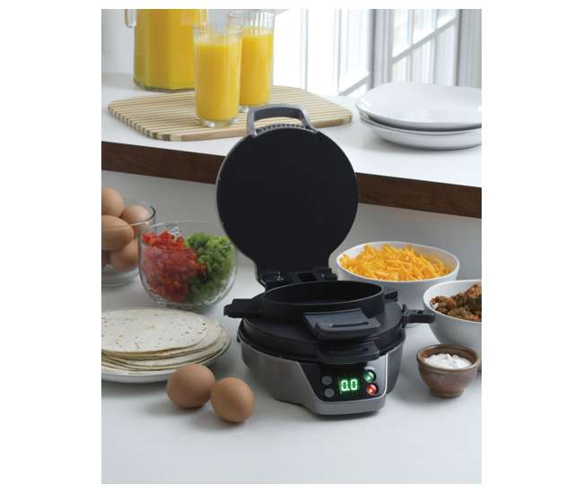 Melitta 12-Cup Coffee Maker with Breakfast Burrito Maker Bundle 46893 + 25495 : 46893A + 25495 ...