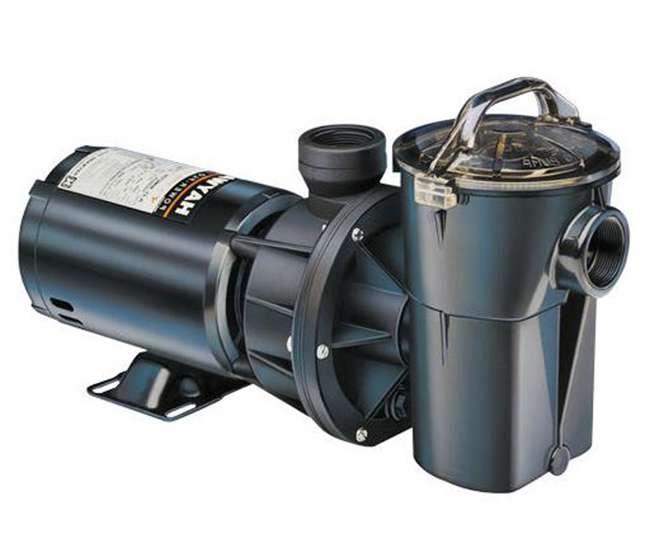 Hayward power flo ii 1 horsepower above ground swimming - Hayward pool equipment ...