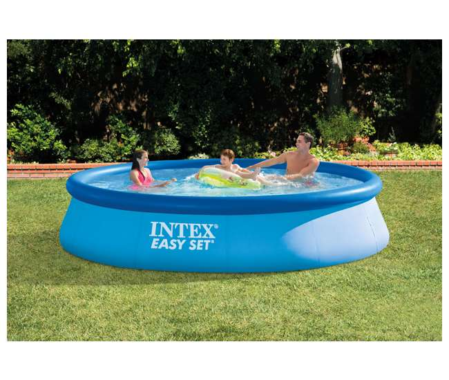 intex 13 39 x 33 easy set swimming pool 28143eh. Black Bedroom Furniture Sets. Home Design Ideas
