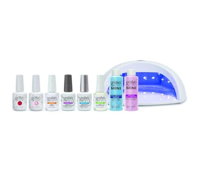 Nail Polish Package: Gelish Harmony Salon Grade Professional Gel Led Soak Off
