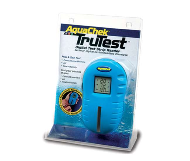 Meter Reading Practice Test : Aquachek trutest digital pool spa test strip meter