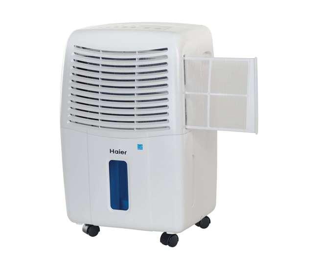 Haier pint dehumidifier and btu window air