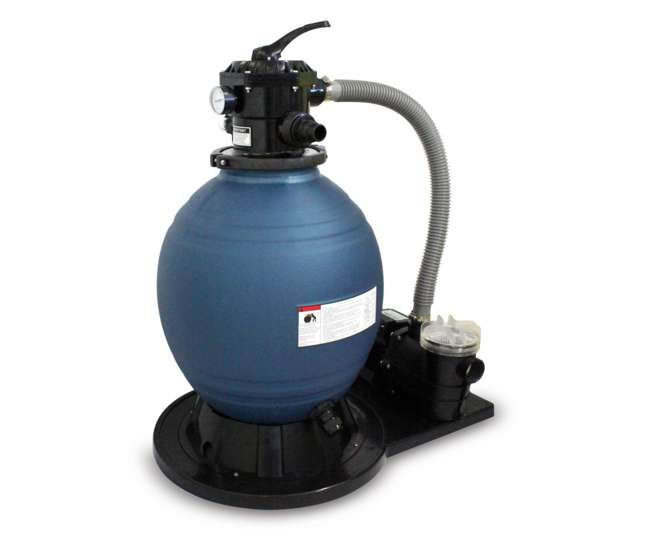 Kokido 1540 gph sand filter pump derby automatic swimming pool vacuum cleaner k291bx us for Swimming pool vacuum pump cleaners