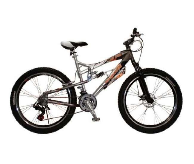 """R4674WMAMongoose 26"""" XR250 Dual Suspension All-Terrain Mountain Bike   R4674WMA"""