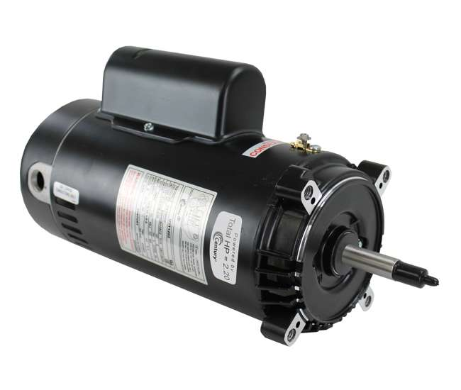 A o smith century c face up rated replacement pool motor for Century motor date code