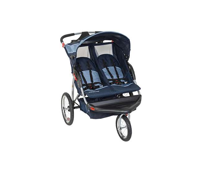 DJ96526 Baby Trend Expedition Swivel Double Jogging Stroller (Vision) | DJ96526