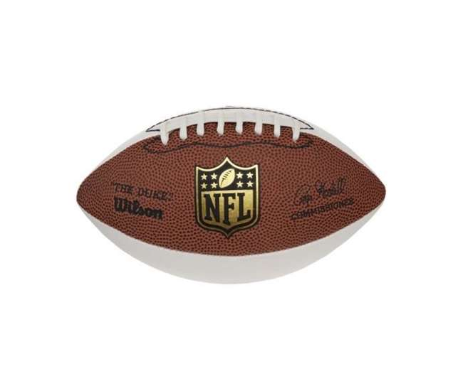 wilson wtf1192 official size nfl autograph football