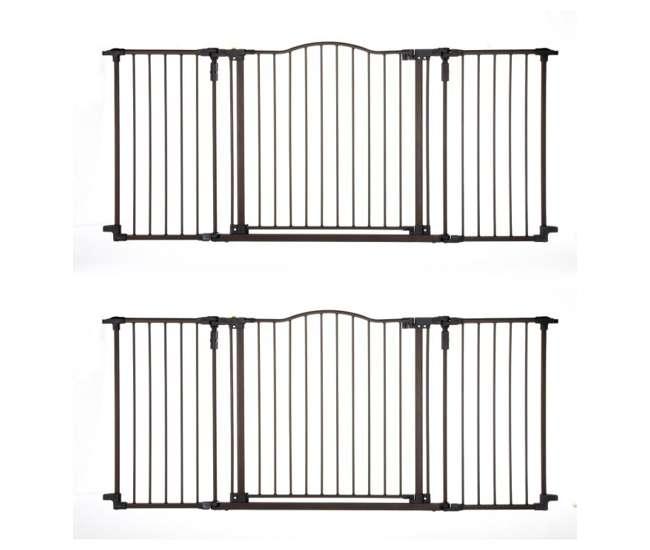 4934 North States Deluxe Decor Gate - Matte Bronze   4934 (2-Pack)