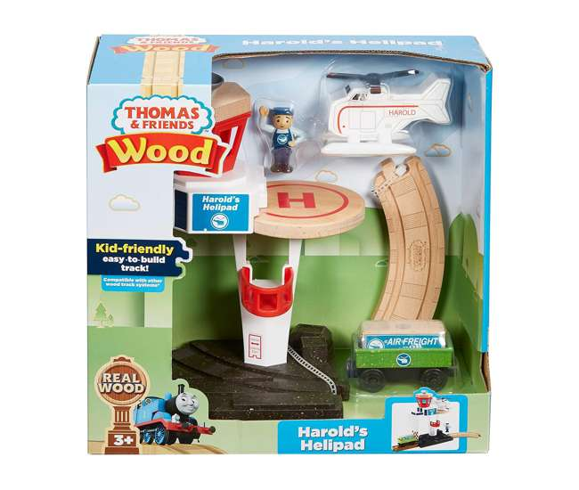 GHK14 Fisher Price GHK14 Thomas and Friends Harold Helipad Playset for Preschoolers