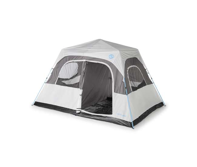 TGT-PADRIO-8 Tahoe Gear Padrio 13 x 9 Foot 8 Person Quick Set Tent with 2 Room Configuration