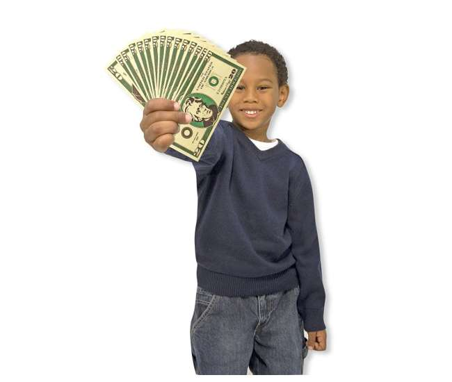 1273Melissa & Doug Play Cash Drawer Money Set | 1273