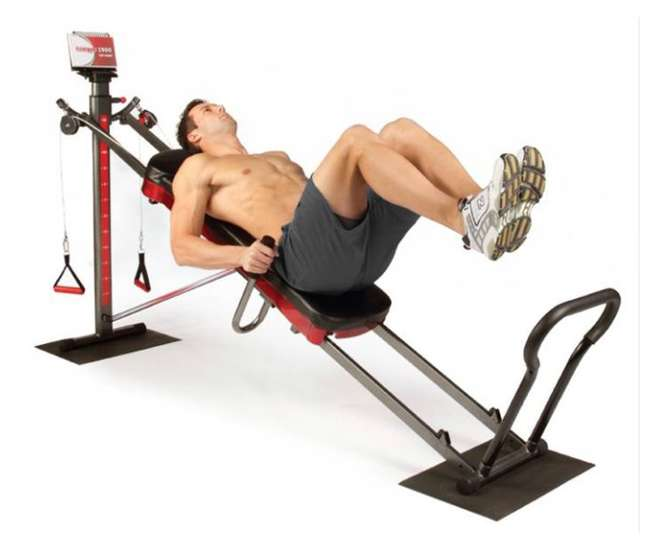 exercise machine total
