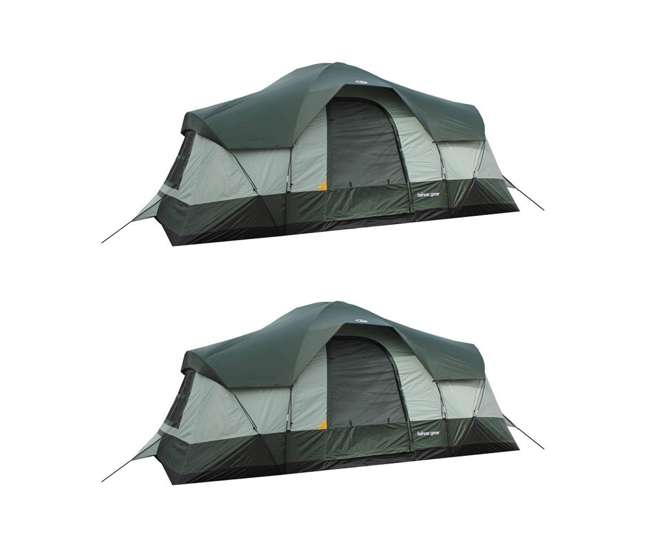 TGT-OLYMPIA-10 Tahoe Gear Olympia 10-Person 3-Season Tent (2 Pack)