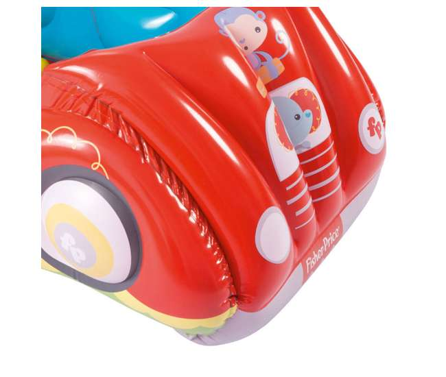93520E-BW Fisher-Price Race Car Inflatable Play Pen Ball Pit with Balls