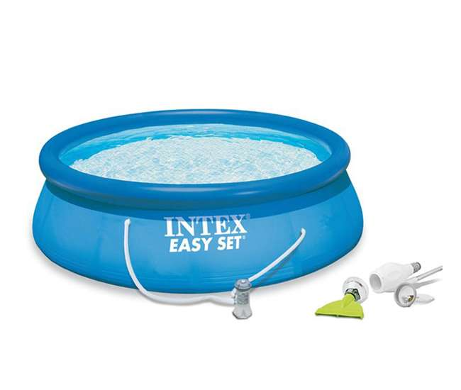 Intex 15 39 X 42 Easy Set Pool W 1000 Gph Filter Pump Skooba Vac 28165eg 54907eg K535cbx