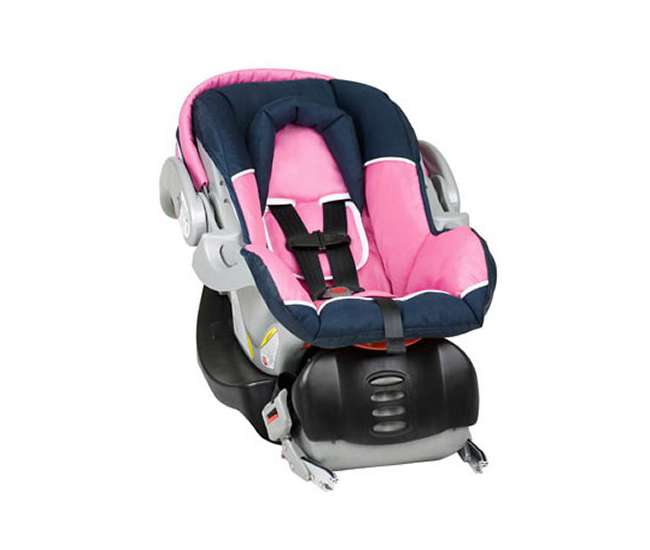 baby trend flex loc infant car seat with base hanna cs41504. Black Bedroom Furniture Sets. Home Design Ideas