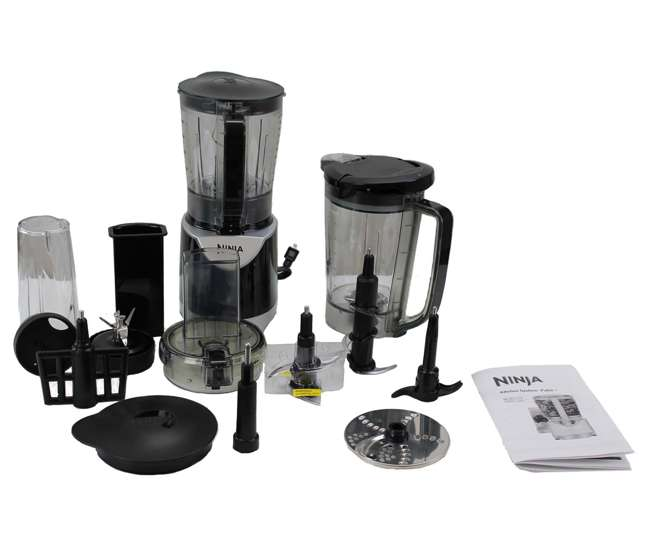 Ninja Extreme 700w Kitchen System Pulse Blender Accessories Refurbished Bl207 Bl207 Rb