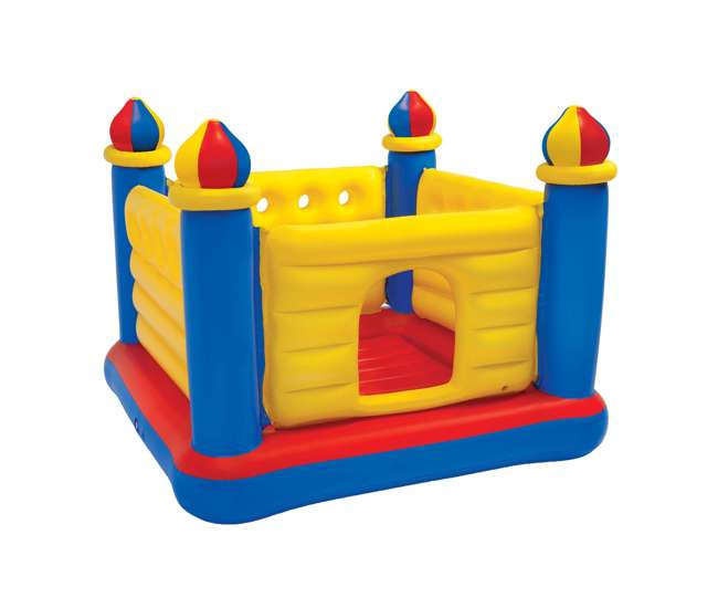 Inflatable Slide Kmart: Intex Inflatable Jump-O-Lene Castle Bouncer : 48259EP