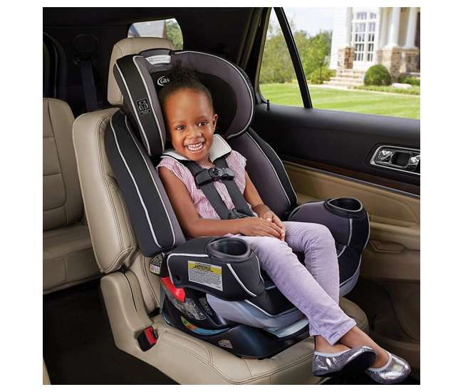 Open Box!! Graco 4Ever Extend2Fit Platinum 4-in-1 Car Seat in Ottlie New!