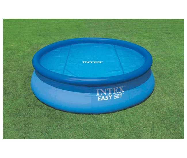 Intex 8 39 Easy Set Swimming Pool Solar Cover Tarp 29020e