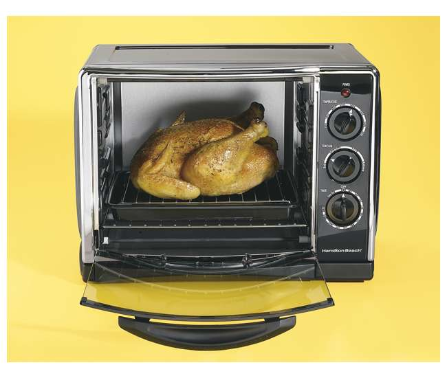 Countertop Convection Oven Chicken : Hamilton Beach Countertop Convection Oven 31197R : VMInnovations.com