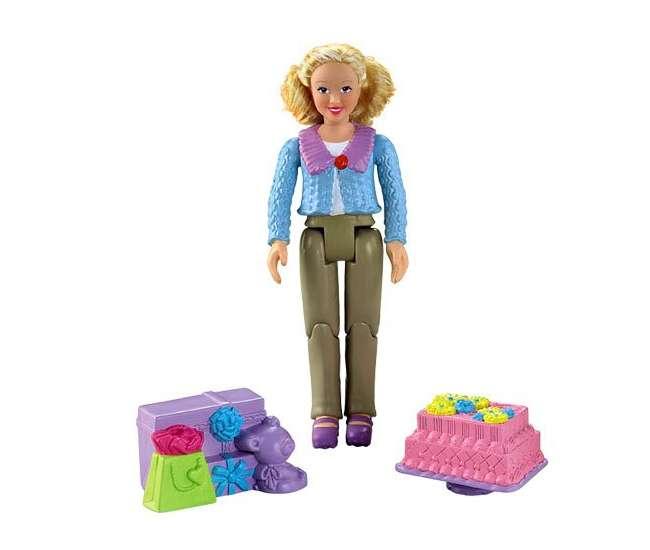 W8793 Fisher Price Loving Family Grandma Doll Figure - Caucasian