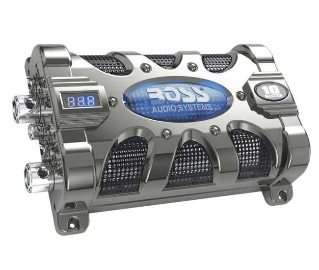 CAP10Boss CAP10 10 Farad Digital LED Capacitor