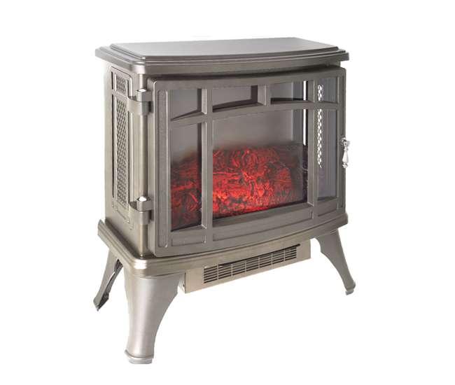 Duraflame Infrared Quartz Stove Heater French Gray Dfi