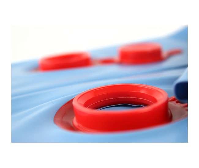 CO82137R + 10 x ACC110DU Swimline 16x32 Rectangular Inground Pool Cover with Ten 10 ft Water Tubes