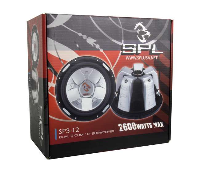 SP312SPL AUDIO 12-Inch 2600W Subwoofer