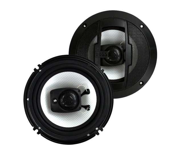 """DB522 + R63 Polk Audio 5.25"""" 300W Car/Marine ATV Speakers, Pair + 6.5"""" 300W Speakers, Pair"""