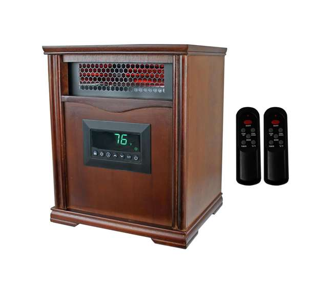 LS-1001HH LifeSmart LifePro 4 Element Infrared Electric Heater