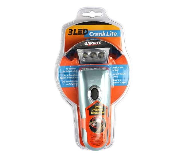 GARRITYLIGHTGarrity K023G 3 Led Super Bright Crank Rechargeable Flashlight