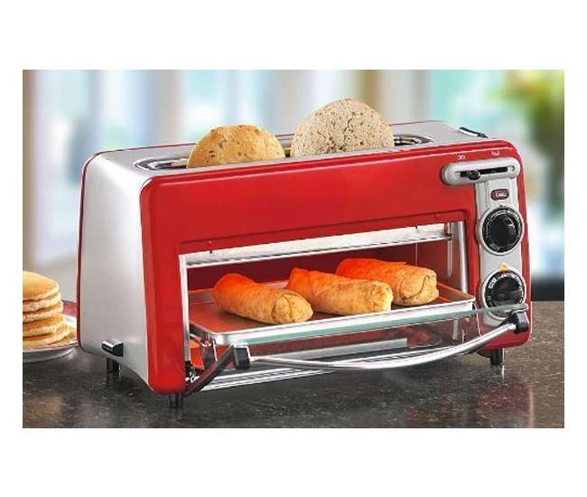 ... Toastation 2 Slice Toaster & Oven Combo 22703H : VMInnovations.com