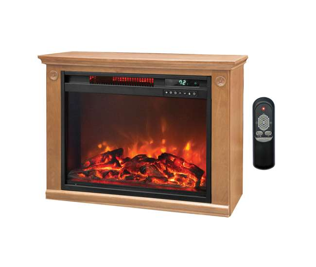 Lifesmart Large Room Infrared Fireplace Heater Ls Zcfp1008us