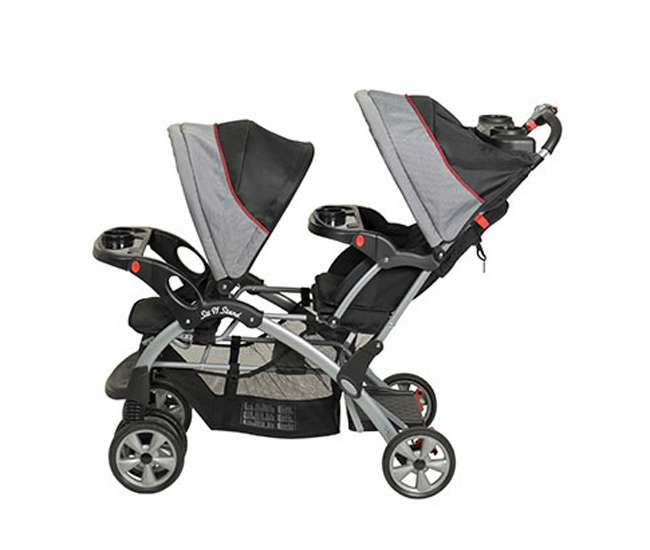 Baby Trend Sit N Stand Double Stroller Pistachio: Baby Trend Sit N Stand Double Stroller (Millennium